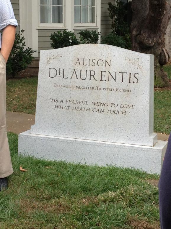 Poor Allison.